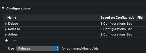 Build configurations jungle