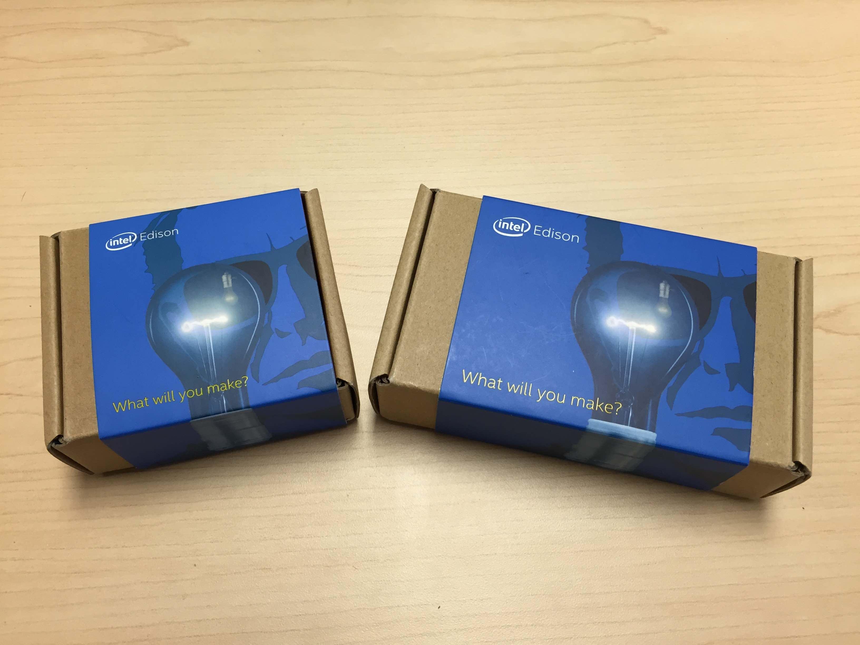 Edison kits for Mini and Arduino breakout boards