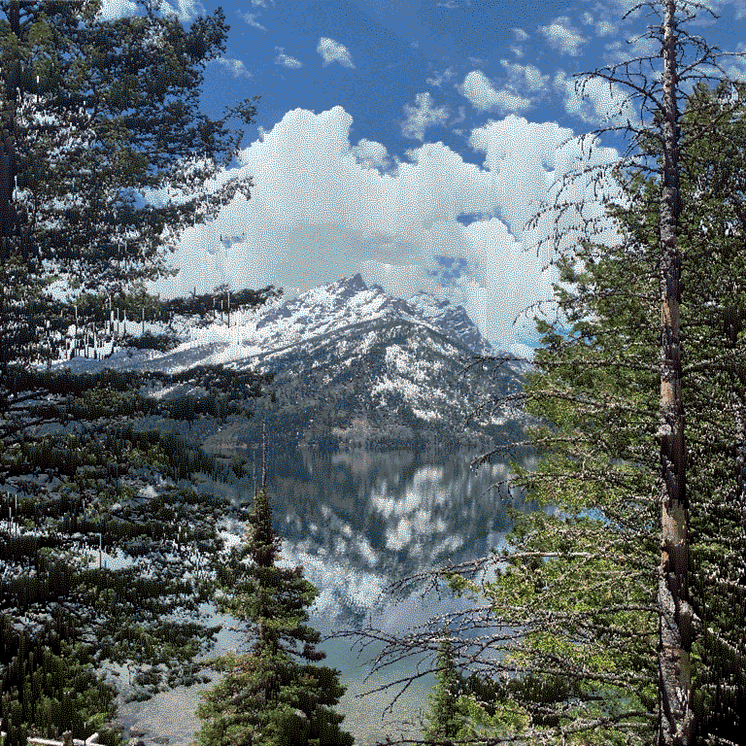 sorted and quantized teton