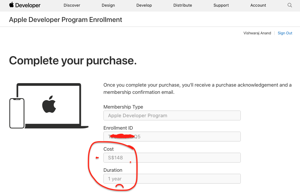 Apple Developer Program Pricing